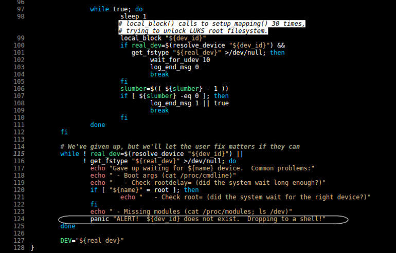 Bypass Linux Disk Encryption Just By Pressing 'ENTER' for 70 Seconds